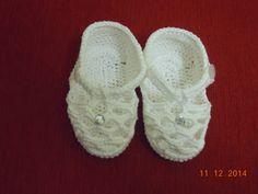 Sandalinha de croche