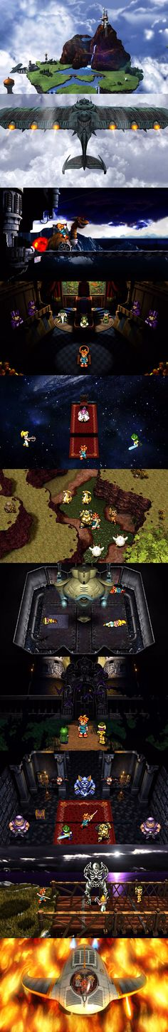 A fan remade the Chrono Trigger intro! It's incredible!! Click to watch