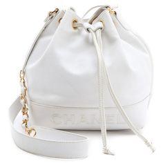 WGACA Vintage Vintage Chanel Caviar Bucket Bag ($2,970) ❤ liked on Polyvore