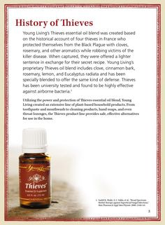 Young Living 736760820270483276 - Discover the many uses and the power of Thieves by Young Living. Browse this booklet to learn more about Thieves Essential Oil as well as its versatility and household uses. Source by Young Living Thieves Oil, Young Living Oils, Young Living Essential Oils, Thieves Essential Oil, Essential Oil Uses, Melissa Essential Oil, Theives Oil, Oils For Life, Living Essentials