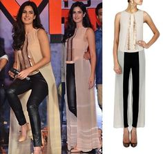 Celeb Style: Get this Look by Rohit Gandhi Rahul Khanna at Pernia's Pop Up Shop - Katrina Kaif style