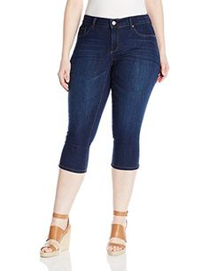 Jessica Simpson Womens Plus Size Kiss Me Skimmer Jean RoyalRoyal 24W * You can get additional details at the image link.