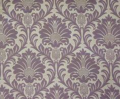 Purple Small Damask VE Fabric By The Yard Curtain by FabricMart Mauve Bathroom, Jacquard Weave, Amazon Art, Fashion Fabric, Sewing Stores, Woven Fabric, Damask, Sewing Crafts, Yard