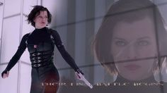 Milla Jovovich in Resident Evil Retribution.