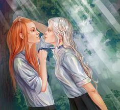 Luna and Ginevra by Herbst-Regen.deviantart.com on @deviantART