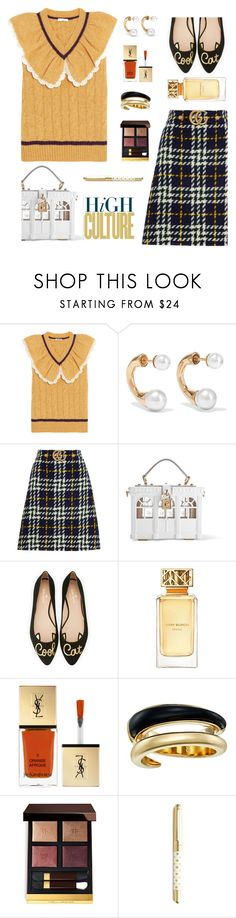"""""""Untitled #1092"""" by celida-loves-pink ❤ liked on Polyvore featuring Miu Miu, Chloé, Gucci, Dolce&Gabbana, Kate Spade, Tory Burch, Yves Saint Laurent, Michael Kors, Tom Ford and Minimalist"""