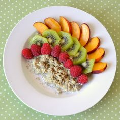 Soulshine Vegan: Coconut Breakfast Quinoa. I wouldn't use coconut of course.