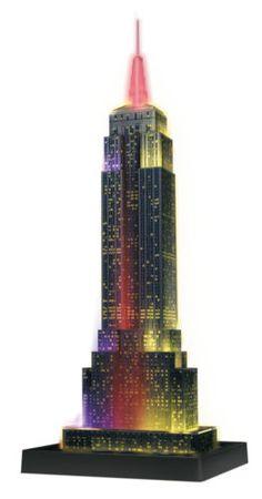 New York, Empire State Building, desk lamp, floor lamp