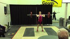 Claudie Vaillancourt, épaulé-jeté 74kg - 7 février 2015 | Catégorie 63 kg