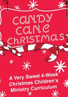 Candy Cane Christmas 4-Week Children's Ministry Curriculum – Children's Ministry Deals