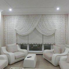 Beyaz Renk Perde Çeşidi: Klasik ve temiz bir görünüm sergileyen perde modeli işlemeli tülü ve stor fon perdesi ile her dekor ile uyum içerisinde olacaktır. Çoğu bayanın tercihi olan beyaz