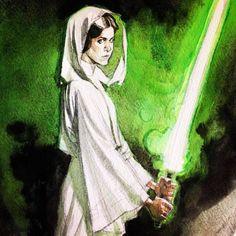 Andrew C. Robinson ( Jedi Leia ) *