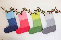 V and Co.: how to make: Christmas Stockings @ModaFabrics - sew cute