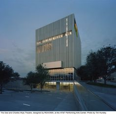 Dee & Charles Wyly theater / Joshua Prince-Ramus & Rem Koolhaas.