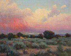 Purple Rain: Robert Kuester: Oil Painting | Artful Home