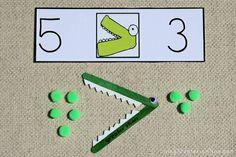 Spunti per insegnare il maggiore-minore-uguale e numeri pari e dispari