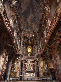 Church of St. Johann Nepomuk Munich, Germany.
