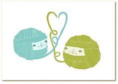 knitting print