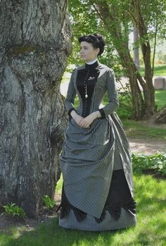 reproduction of 1887 dress