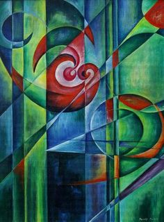 . (classic paint). ....   .FRANZ MARC ...  2/8/1880--3/4/1916.... ...one of the key figures of the German Expressionist movement