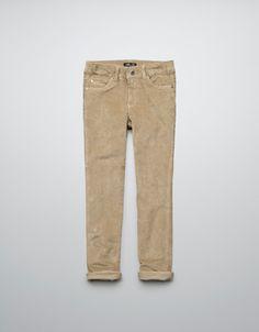 CORDUROY TROUSERS - Trousers - Girl (2-14 years) - Kids - ZARA United States
