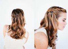 Waterfall Twist Tutorial: Braids Hairstyles for Long Hair