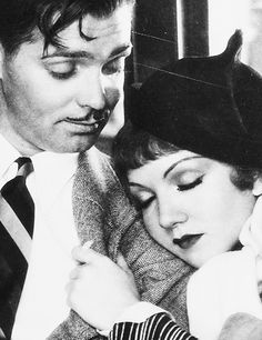 It Happened One Night.  Clark Gable & Claudette Colbert.  My very favorite old movie.  CLASSIC.  Hilarious.