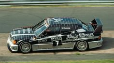 Klaus Ludwig + Mercedes-Benz W201 190E 2.5-16 Evo II + Karussell