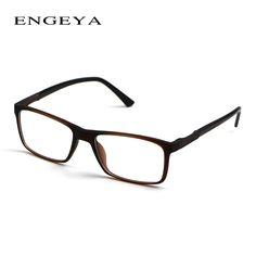 b8c4165537c ENGEYA Men TR90 Brand Designer Eyeglasses Frame Optical Retro Glasses  Myopia Spectacle Frame Classic 3 Matte