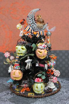 Dollhouse Miniature Halloween Candy Theme by 19thDayMiniatures,   https://www.etsy.com/listing/112044930/dollhouse-miniature-halloween-candy