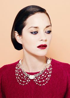Marion Cotillard -born 30 September 1975, is a French actress. She garnered critical acclaim for her roles in films such as La Vie en Rose, Rust and Bone, The Immigrant, A Very Long Engagement, Furia, Les Jolies Choses and Love Me If You Dare. She has also appeared in such films as Chloé, My Sex Life... or How I Got Into an Argument, Taxi, Lisa, Big Fish, A Good Year, Public Enemies, Nine, Inception, Midnight in Paris, Contagion and The Dark Knight Rises.