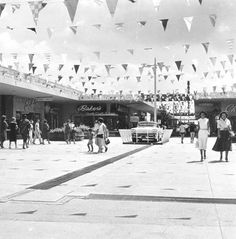 Back when it opened, it was called Gulfgate Shopping City. And it was an open-air shopping center, a new concept in those days.  Gulfgate opened on Sept. 20, 1956. By 1964, the shopping center had 70 stores, 5,500 parking spots and covered 802,770 square feet.