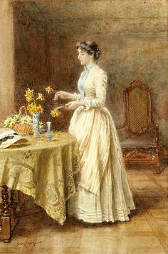 ~ George Goodwin Kilburne ~ (English: 1839-1924)