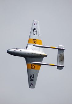 British-made De Havilland Vampire was the first fighter plane to exceed 500mph, and the first to takeoff and land on an aircraft carrier (in 1945)