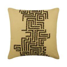 Gold Taffeta Throw Pillow Cover, Golden City – The HomeCentric