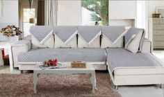 Grey Slipcover For Sectional Sofa With Arm And Back As Well As Slipcover For Sectional Sofa With Chaise Also Slipcover For Sectional Sofa With Chaise