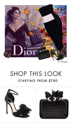 """""""Have a Wonderful New Week!"""" by deborah-strozier ❤ liked on Polyvore featuring Christian Dior and Nancy Gonzalez"""