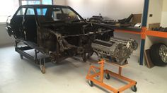 TPCustom Car: Engine | Mercedes circuit car W201 RS custom race car