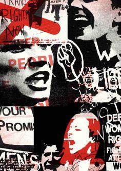 54 Ideas Art Sketchbook Messages For 2019 Protest Art, Political Art, A Level Art, Illustration, Collage Art, Collage Design, Collage Ideas, Grafik Design, Art Sketchbook