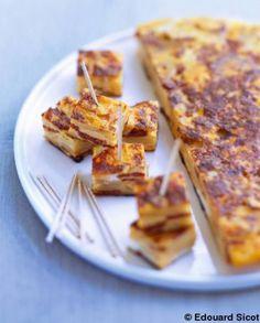 Tortilla au chorizo pour 6 personnes - Recettes Elle à Table