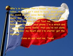 Text Me Texas-Chris Young