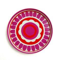 °1960s vintage tin coaster°