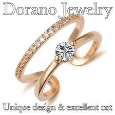 Unique gold ring with diamonds. www.doranojewelry.com #rigs #jewelers #Pasadena #Monrovia  #Arcadia #LosAngels #unique #designer @Doranojewelry