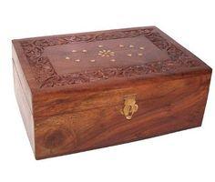 Wooden Aromatherapy Box-holds 24x10ml