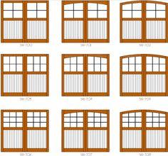 Clingerman Doors   Custom Wood Garage Doors   Clearville, PA