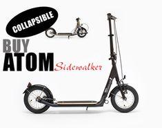 Unmotorized Folding Adult Kick and Push Scooters & Push, Foot, and Kick Bike