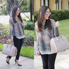 Currently smitten with this @pompandcircumstanceboutique leopard tunic while watching #TheBac... @liketoknow.it www.liketk.it/RKyg #liketkit