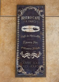Bistro Cafe Flax Print