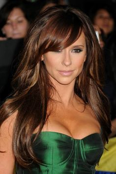 dark with subtle highlights jennifer love hewitt hair