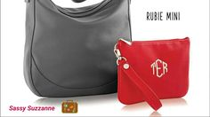 The new Jewell Hobo bag and Mini Rubbie compliment each other and make your style unmatchable.